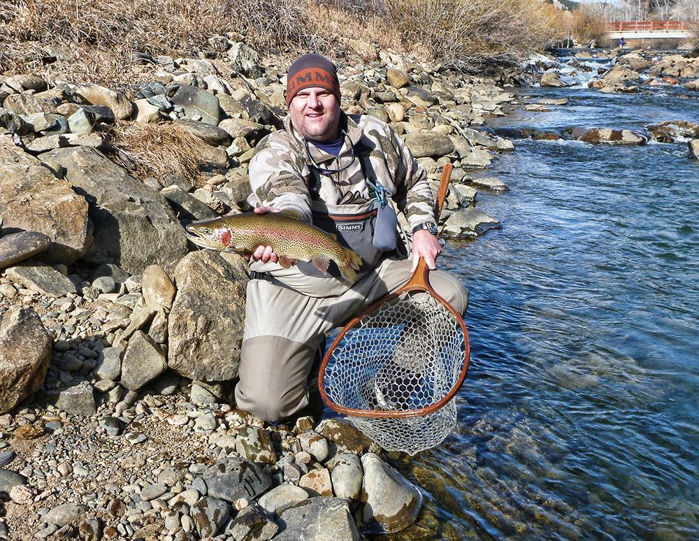 Platte River Fishing in Denver CO